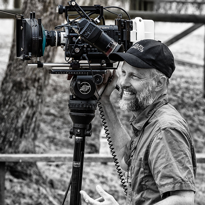 Mike Malmberg with sony PMWF55 camera